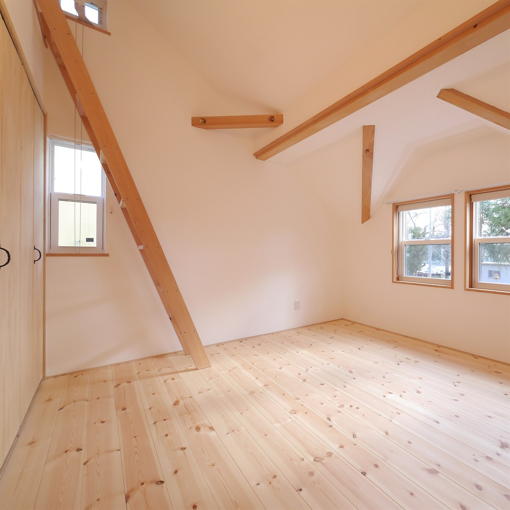 天然素材の優しさに包まれた暮らしのできるお家