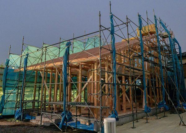【構造見学会開催】お客様のお家 上棟しました!【熊谷市】
